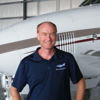 Dale Stewart, Chief Pilot