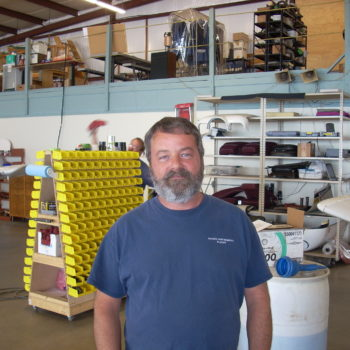 Steve Daniels, Parts & Inventory Manager