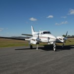 Maine Instrument Flight's King Air C90A available for charter.