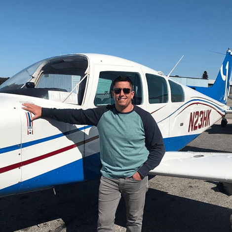 Alex McKendall earned his Commercial Airplane license on September 18, 2019.