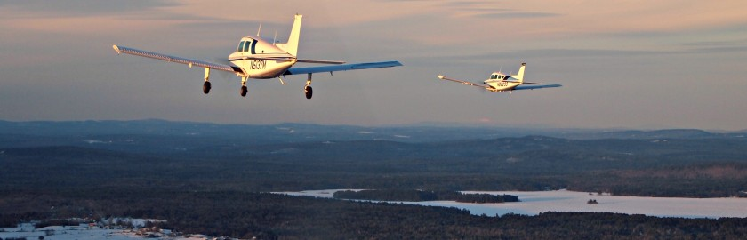 Flight training from Maine Instrument Flight, Augusta, Maine.