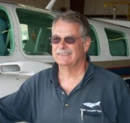 Bruce Robbins, Assistant Chief Flight Instructor.