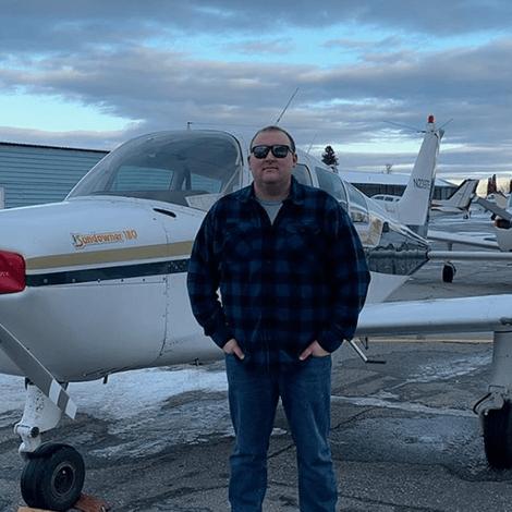 Dakota Turnbull had his first solo flight on 1/7/20