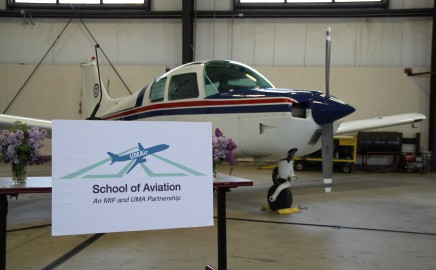 Earn a Bachelor's Degree in Aviation from the Maine Institute of Flight, Augusta, Maine.