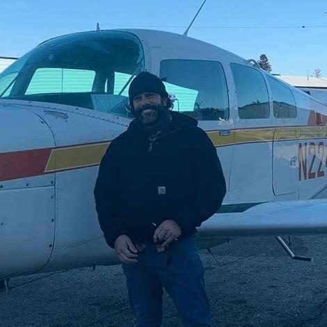 Matt Kendall earned his Commercial Pilot license on December 12, 2019.