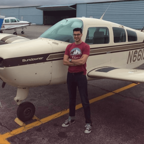 Savage Bloomer earned his instrument rating on October 14, 2019.