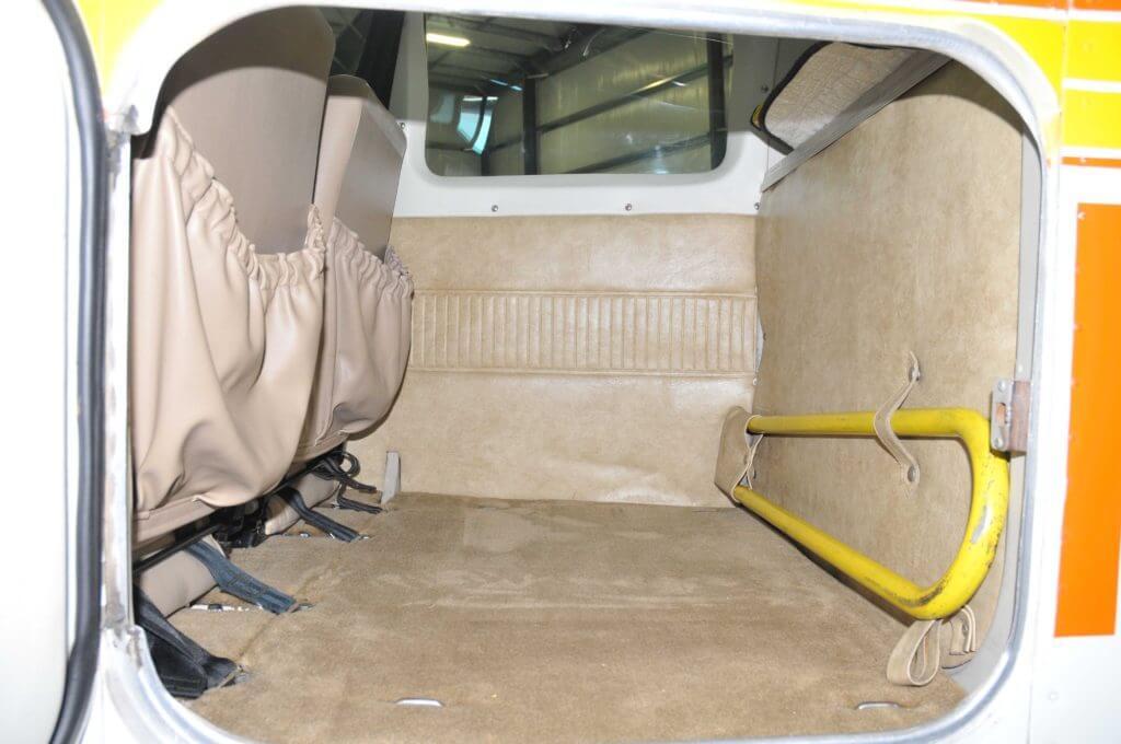1977 Beechcraft Sundowner interior.
