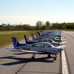 Image of aircraft for FBO widget banner image.