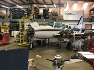 Maine Instrument Flight's aircraft service center.