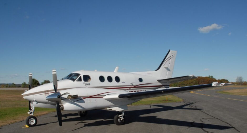 Beechcraft King Air C90A.