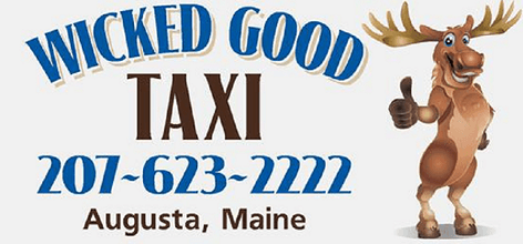 Ground transportation from Wicked Good Taxi.