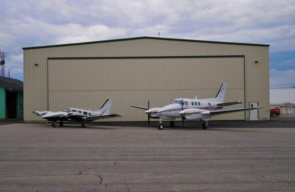 Maine Instrument Flight hanger space.