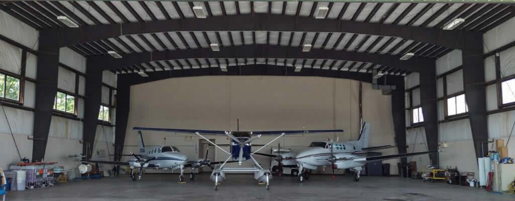 Hangar Space at Maine Instrument Flight.