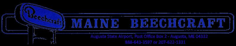 Maine Beechcraft logo.