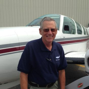 Roger Wolverton, Charter Pilot.