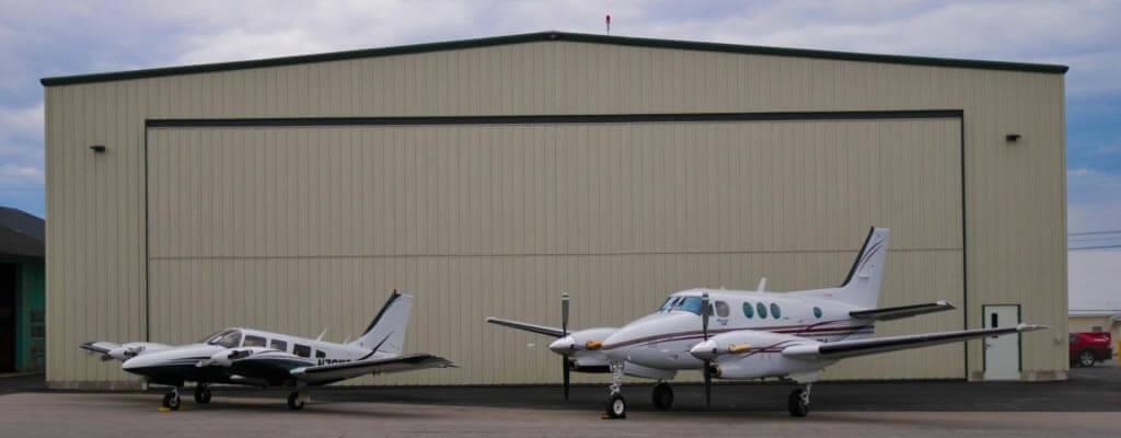Air Charter banner.